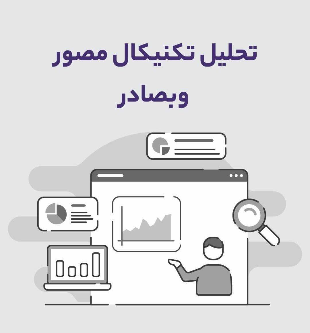 تحلیل تکنیکال ویدئویی نماد وبصادر بانک صادرات ایران